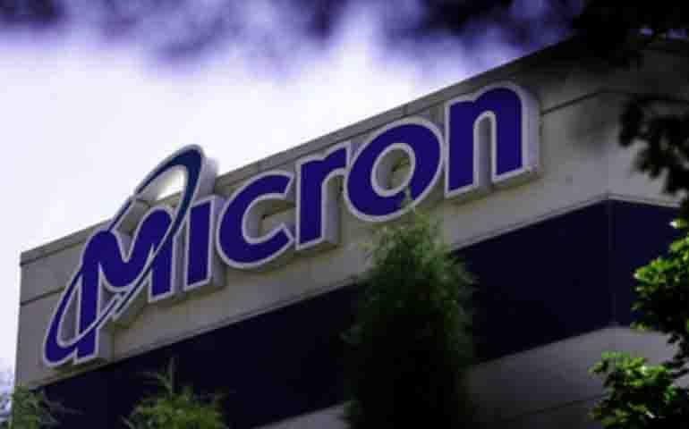 Micron Technologies shares rose