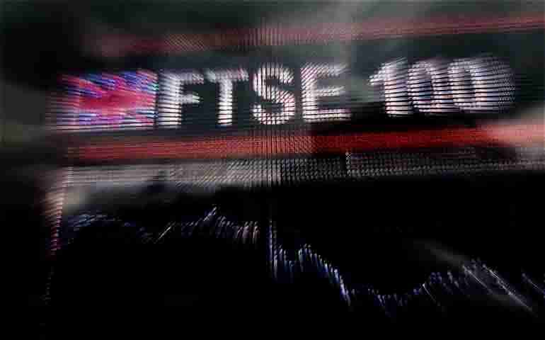 Britain's FTSE 100 stock index falls more than 1 percent