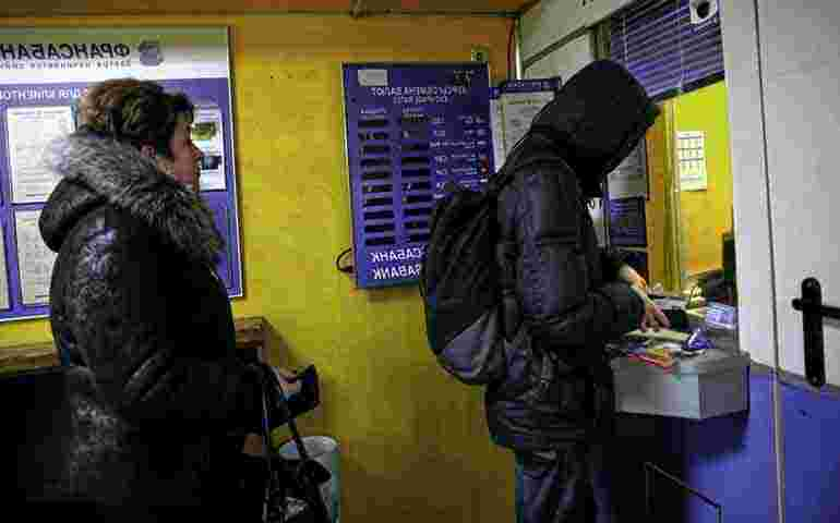 Belarusians rushed to buy currency