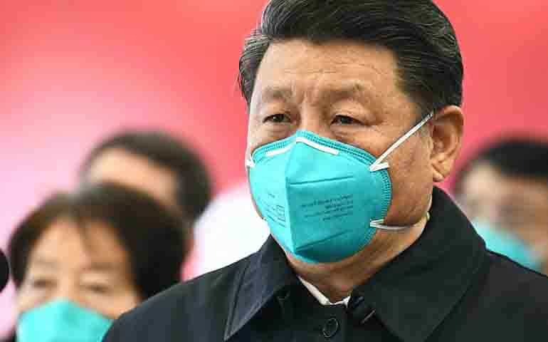 Expert assessed reports of Xi Jinping 's