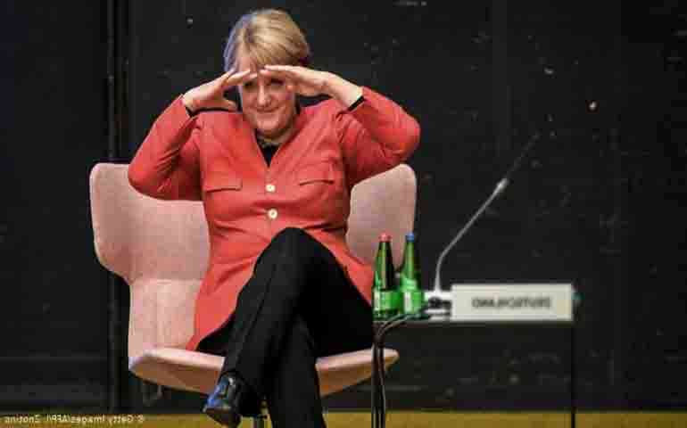 Merkel topped the confidence rating of residents of developed countries