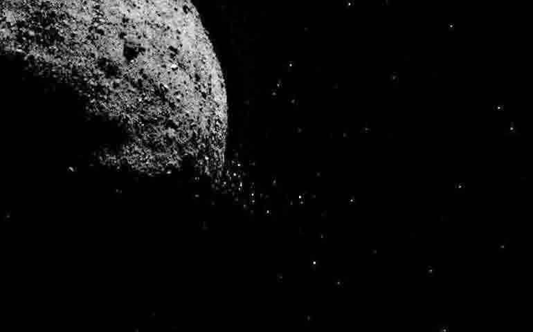 An asteroid is approaching earth